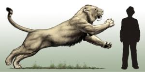 Cave+lion+Carl+Buell+%2528c%2529 10 Spesies Hewan yang Menakjubkan yang telah Punah