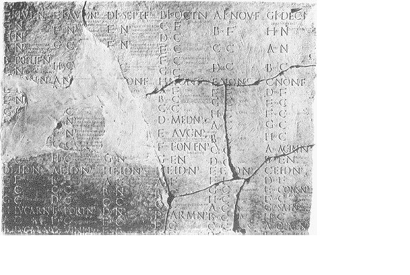 28. Some 200 fragments of Roman calendars have been found so far, and they are collectively known as Fasti.