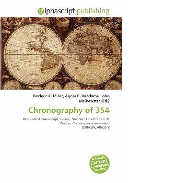 7. Terbitan Modern dari Chronography 354 AD